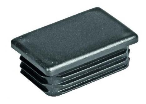 62.235 Zaślepka do profilu Prostokąt 60x80 czarna