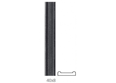 31.103 Płaskownik dwugarbny 40x8/H3000