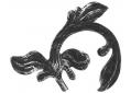 51.116 Liść prawy H215xL175/4