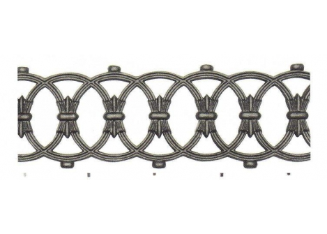 55.031 Ornament żeliwny H870xL150