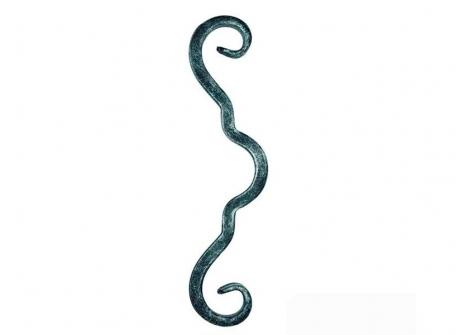 10.328 Spirala P 12x12 / H280xL80