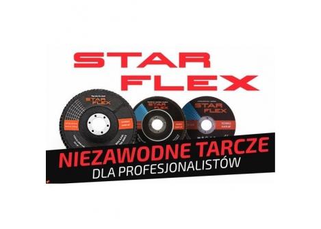 STAR-FLEX Tarcz listkowa 125X22 gr. 80 TLI -INOX