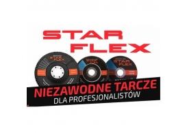 STAR-FLEX Tarcz do szlifowania 125x6,0
