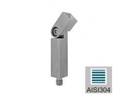 A/4812-040 Podpora poreczy nastwana 40x40x2
